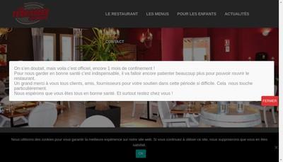 Site internet de Les Terrasses du Gardon