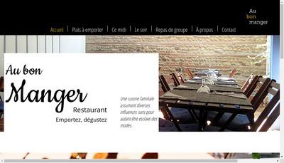 Site internet de Au Bon Manger