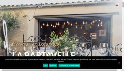 Site internet de La Bartavelle