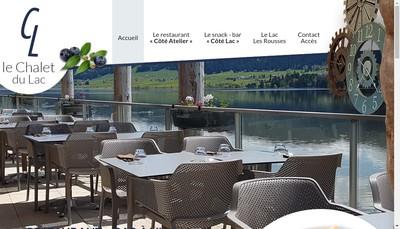 Site internet de Le Chalet du Lac