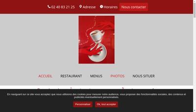 Site internet de La Halte du Chateau Rouge