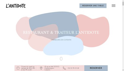 Site internet de L'Antidote