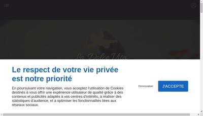 Site internet de La Dolce Vita