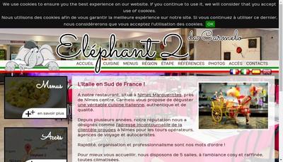 Site internet de Elephant 2