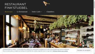 Site internet de Winstub Fink'Stuebel