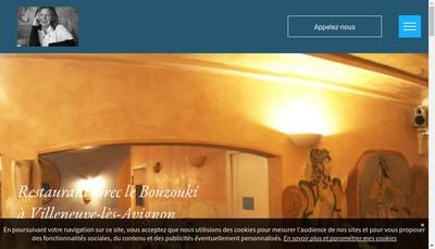 Site internet de Restaurant Grec le Bouzouki