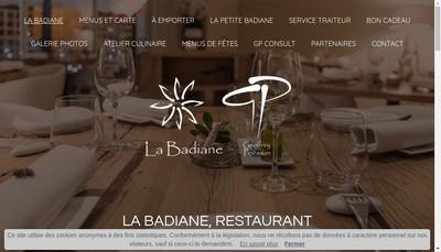 Site internet de La Badiane