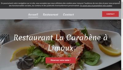 Site internet de La Carabene