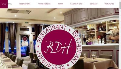 Site internet de Brasserie des Halles
