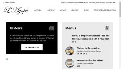 Site internet de L'Agope