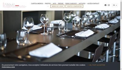 Site internet de Caveau d'Eguisheim