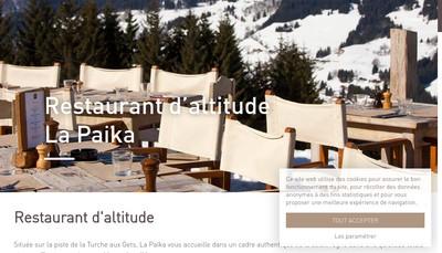 Site internet de La Paika