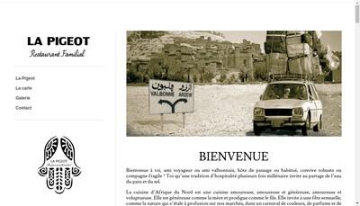 Site internet de Le Pigeot