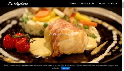 Site internet de La Regalade