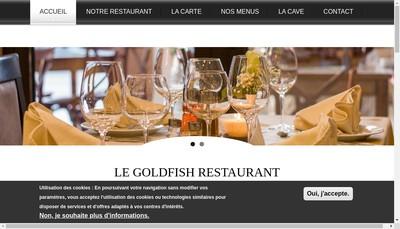 Site internet de Le Gold Fish