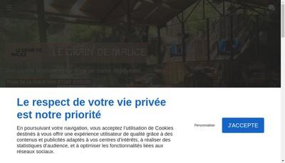 Site internet de Le Grain de Malice