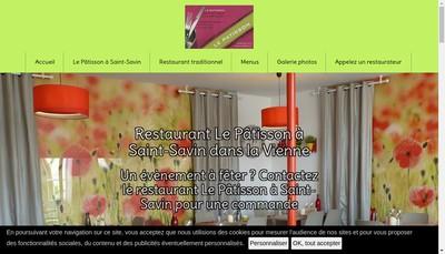 Site internet de SARL le Patisson