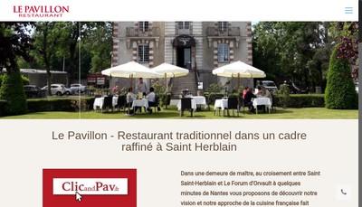 Site internet de Brasserie le Pavillon