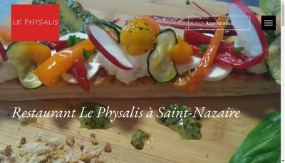Site internet de Le Physalis