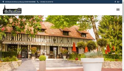 Site internet de Le Pot d'Etain