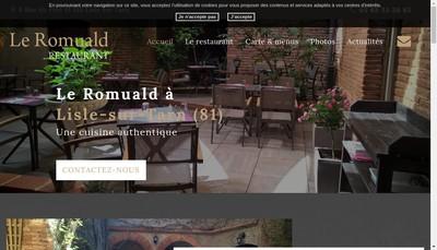Site internet de Le Romuald