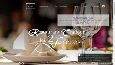Site internet de Le Relais des Deux Freres