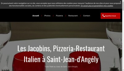 Site internet de Restaurant les Jacobins