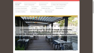 Site internet de Les 1Separables