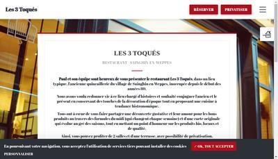 Site internet de Bistrot de la Quincaillerie