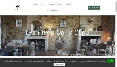 Site internet de Les Pieds Dans l'Eau