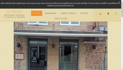 Site internet de SARL le Tassili
