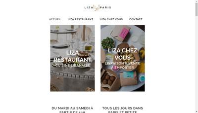 Site internet de Liza