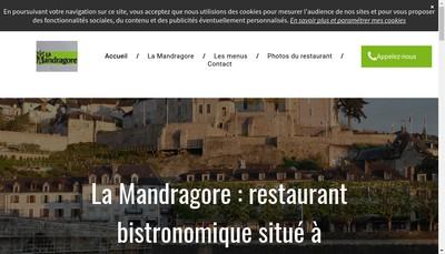 Site internet de La Mandragore