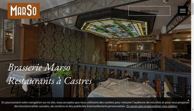 Site internet de Brasserie Marso
