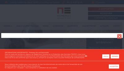 Site internet de La Gentilhommiere
