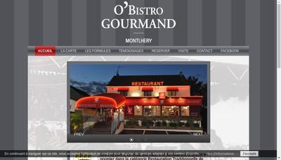 Site internet de O'Bistro