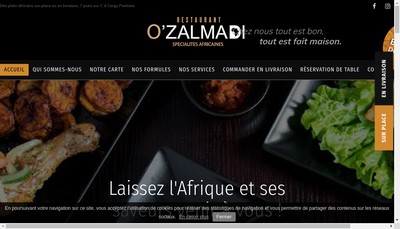 Site internet de O'Zalmadi