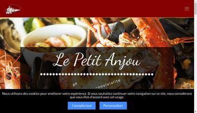 Site internet de SARL Unipersonnelle le Petit Anjou