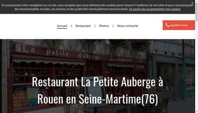 Site internet de La Petite Auberge