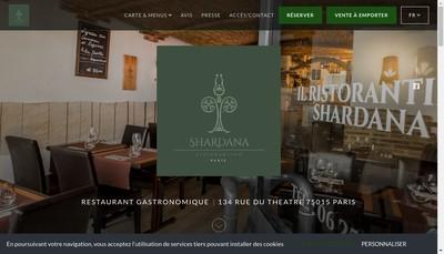 Site internet de Shardana