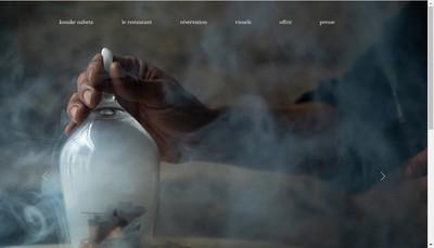 Site internet de Sola Restauration