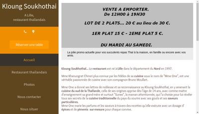 Site internet de Kloung Soukhothai