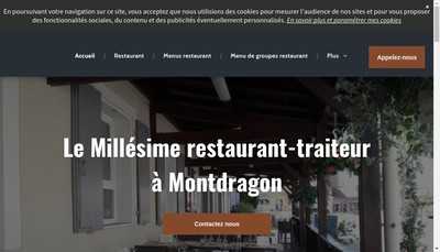 Site internet de Le Millesime