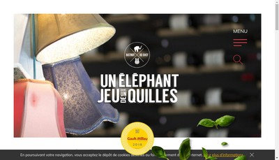 Site internet de Un Elephant Dans un Jeu de Quilles