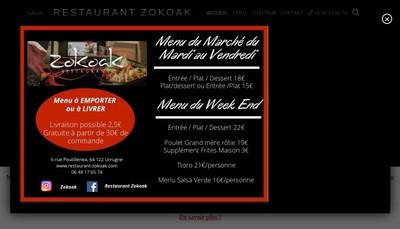 Site internet de Zokoak