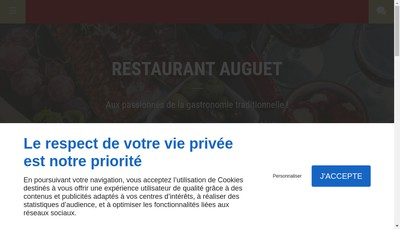 Site internet de Restaurant Auguet