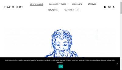 Site internet de Dagobert