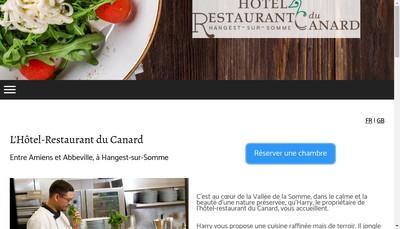 Site internet de Restaurant du Canard