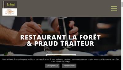 Site internet de La Foret