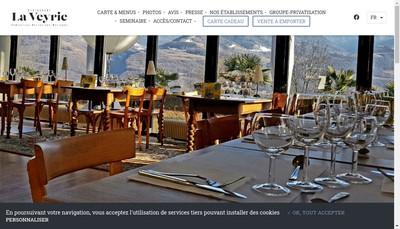 Site internet de Restaurant la Veyrie